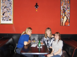 The girls and I out on the town